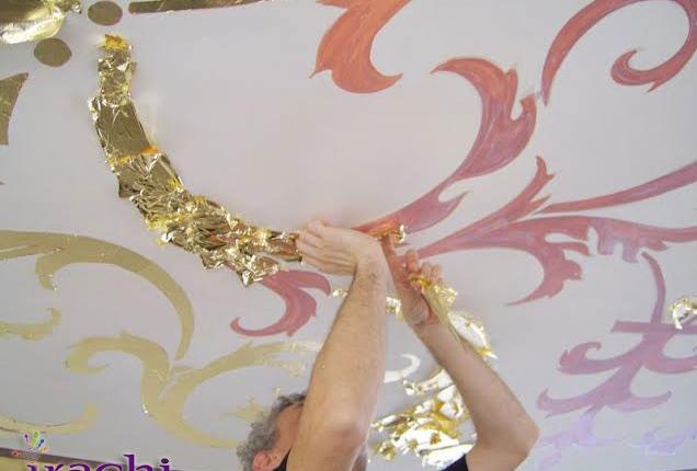 دکوراسیون طلا